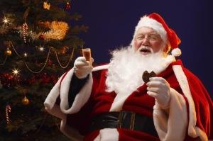 Santas' Toast to you!