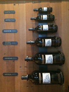 Bottle Sizes of Ch Montelena