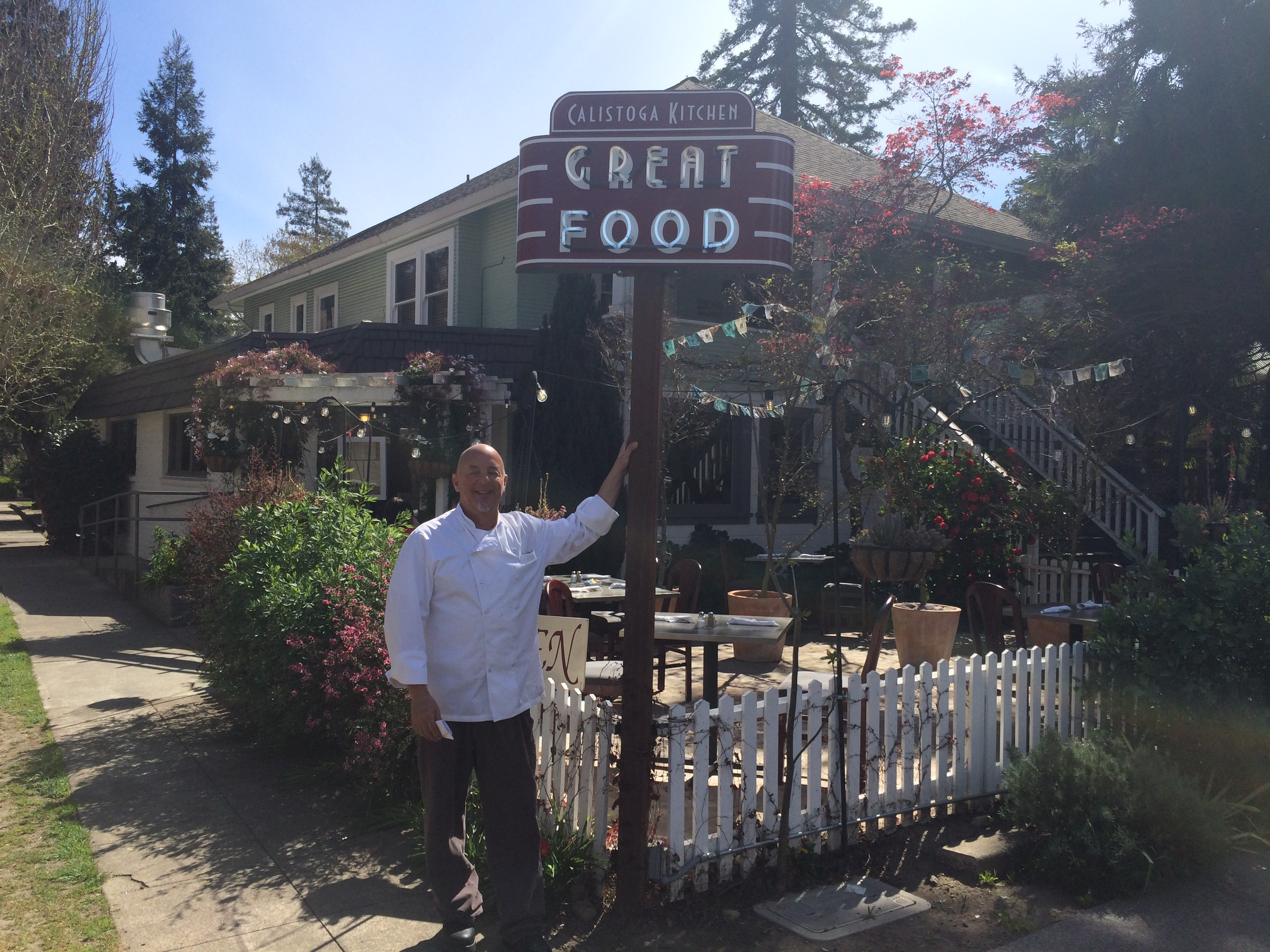 Rick Warkel Chef, Calistoga Kitchen