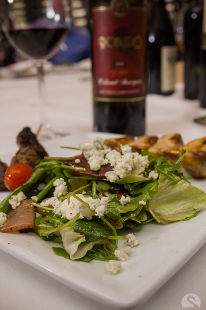 Redoux Wine Diner Main Course. Photo by Swan Photography