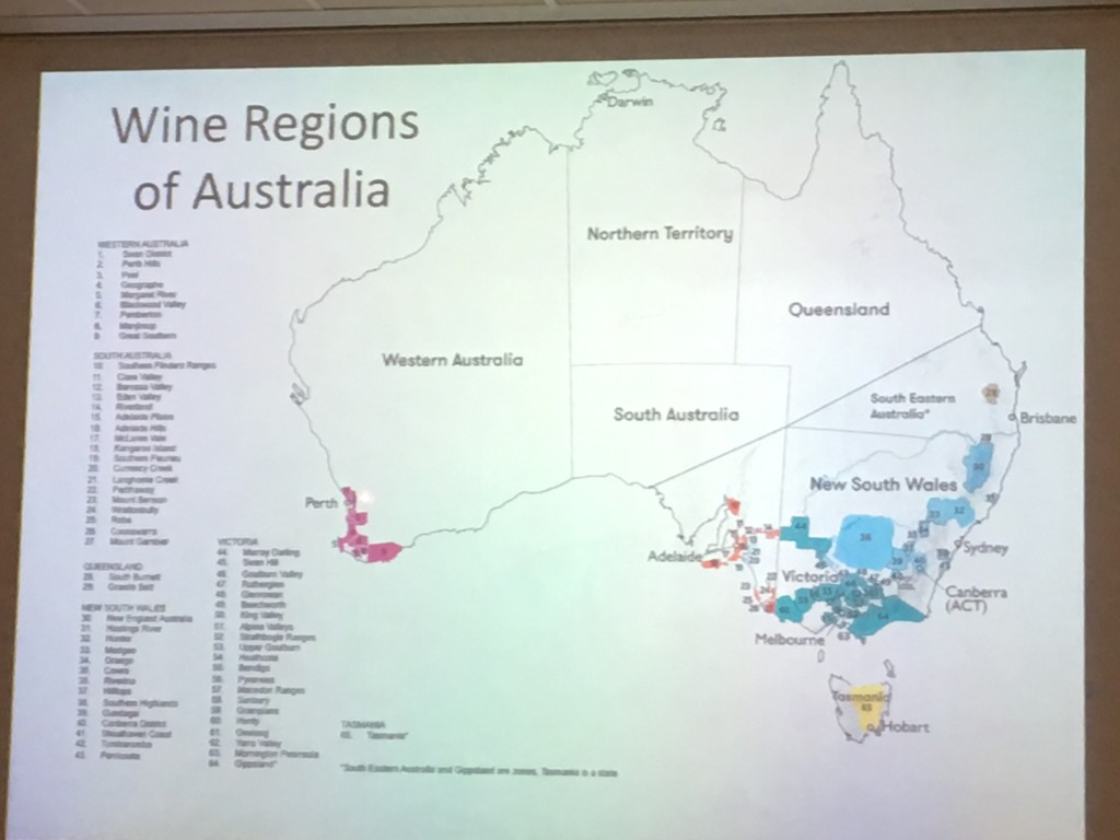 Wine Regions of Australia