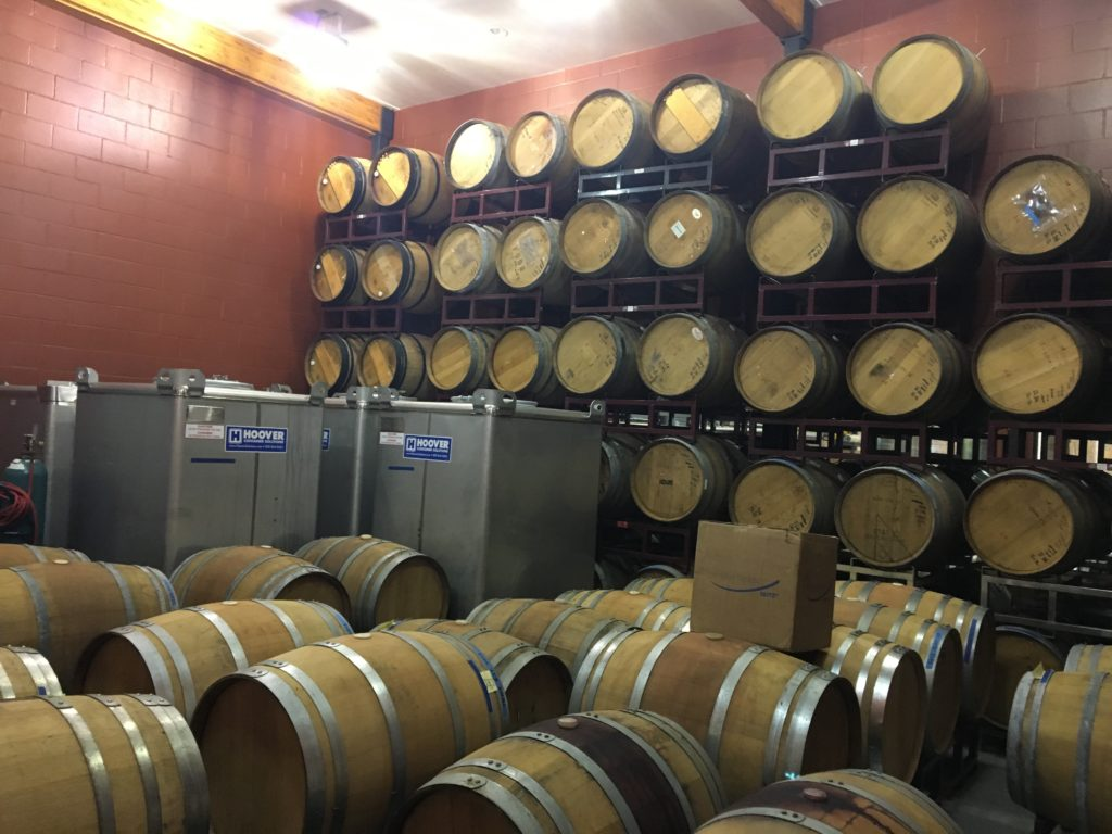 Brennan Barrel Room