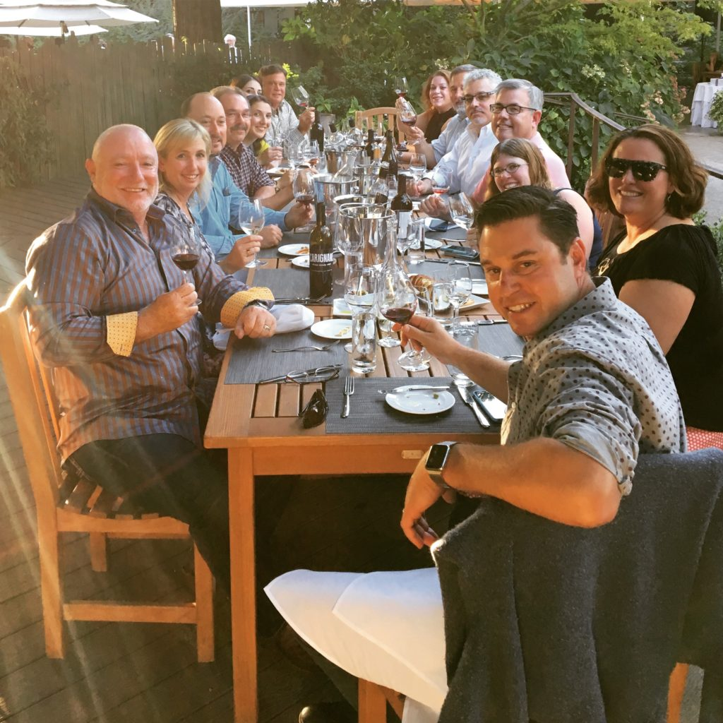 Wine Bloggers Welcome Dinner by Snooth Media and Winegrape Commission!